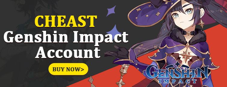 Buy Genshin Impact Accounts